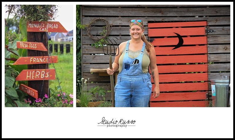 Mel at Blue Clay Farms